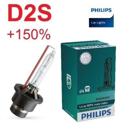 Лампа ксеноновая D2S Philips X-treme Vision Gen2 (+150%) - 85122XV2