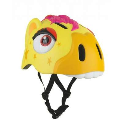 Шлем защитный детский Crazy Safety Yellow Zebra желтый 2018