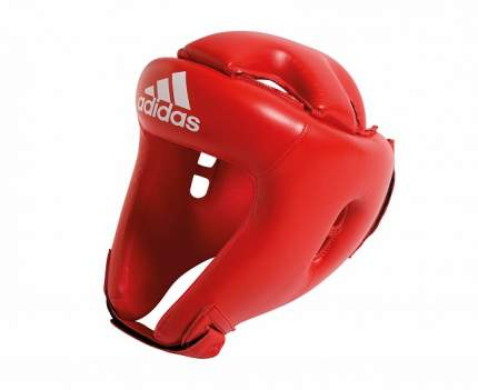 Шлем боксерский Adidas Competition Head Guard красный S