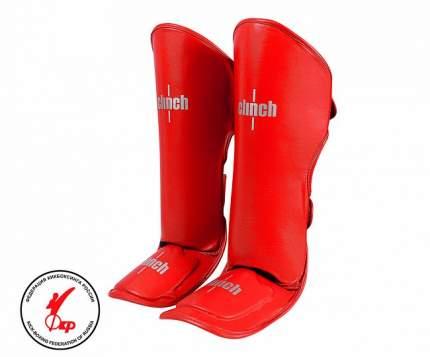 Защита голени и стопы Clinch Shin Instep Guard Kick красная XL