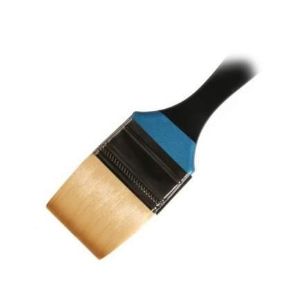 "Daler Rowney Кисть синтетика флейц 2"" (5см) короткая ручка AQUAFINE Daler-Rowney"