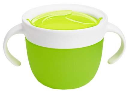 Контейнер с крышкой для хранения продуктов Munchkin Поймай печенье 12+ Зеленый