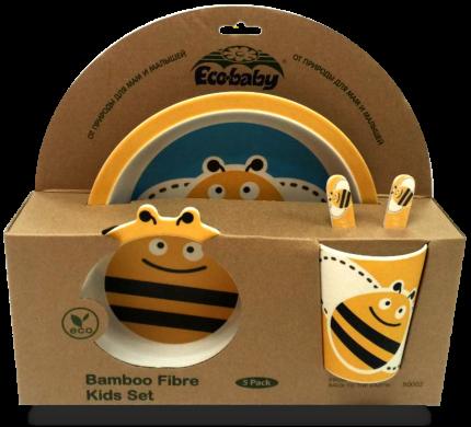 Набор детской посуды Eco Baby Пчёлка