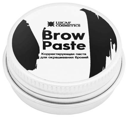 Краска для бровей Lucas' Cosmetics Brow Paste by CC Brow 15 г