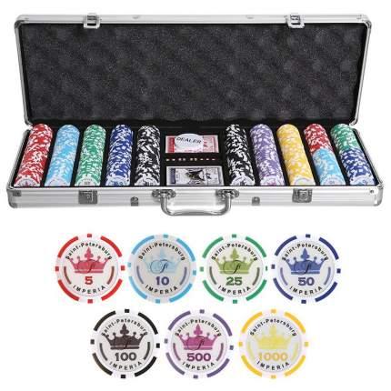 Набор для покера Partida Empire на 500 фишек