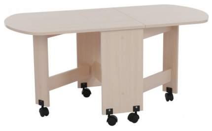 Журнальный столик Mebelson MBS_CZ-006_1 28,2/73,7/119,2х60,2х55,1 см, дуб млечный
