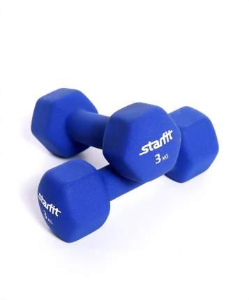 Гантель неопреновая StarFit DB-201 3 кг