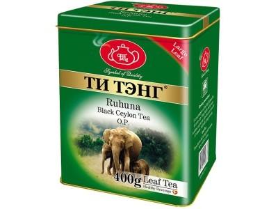 Чай весовой черный Ти Тэнг Ruhuna O.P. 400 г