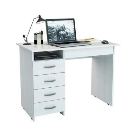 Стол компьютерный МФ Мастер Милан-1 60x110x75, белый
