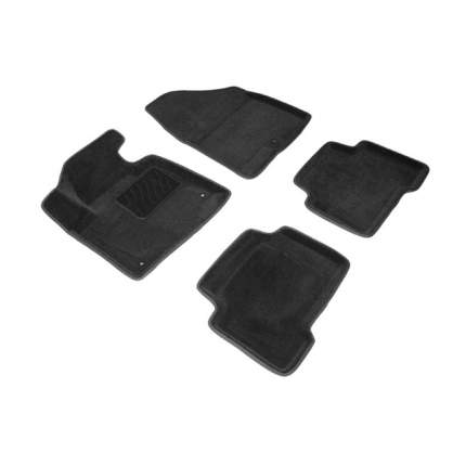 Ворсовые коврики SeiNtex 3D 83624 для Hyundai Santa Fe III 2012-2019