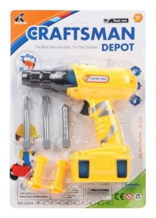 Дрель игрушечная Shantou Gepai Craftsman Depot 6204-1