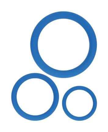 Набор эрекционных колец Sexy Friend 3см 4 см 5 см синий