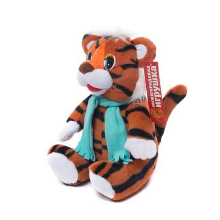 Мягкая игрушка Тигренок в шарфе малый 33 см Нижегородская игрушка См-696-4