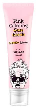 Солнцезащитное средство для лица Village 11 Factory Pink Calming Sun Block  SPF 50