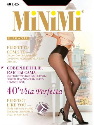 Колготки MiNiMi VITA PERFETTA 40, nero, 3/M