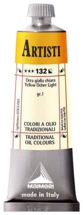 Масляная краска Maimeri Artisti охра желтая светлая 40 мл