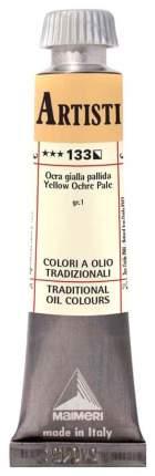 Масляная краска Maimeri Artisti M0102133 охра желтая бледная 20 мл