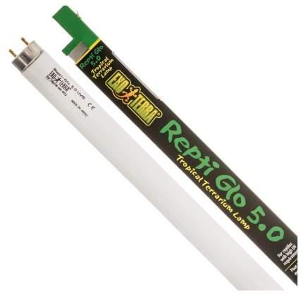 Ультрафиолетовая лампа для террариума Exo Terra Repti Glo 5.0, для водных черепах, 14 Вт