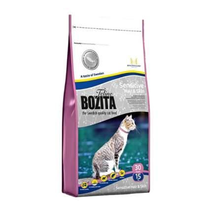 Сухой корм для кошек BOZITA Function Sensitive Hair&Skin, лосось, 0,4кг