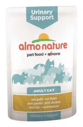 Влажный корм для кошек Almo Nature Holistic Urinary Support, курица, 70г