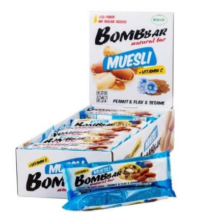 Мультизлаковый Bombbar 45гр (21), арахис
