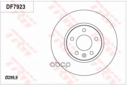 Тормозной диск TRW/Lucas DF7923