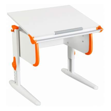 Парта-трансформер для дома WHITE СТАНДАРТ СУТ 24 белый, оранжевый, белый,