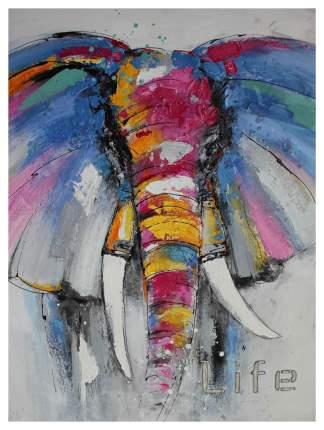 Репродукция 90х120 см Hoff Слон