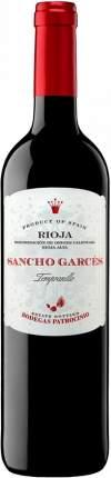 Вино Patrocinio  Sancho Garces Tempranillo Rioja DOC