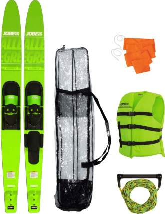 """Водные лыжи Jobe 2019 Allegre Combo Skis Lime Green Package 67"""""""