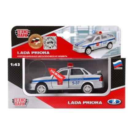 Полицейская Машинка Технопарк Lada Priora 1:43