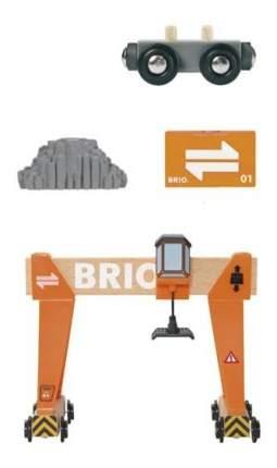 Набор Brio Большой портовый мостовой кран 33732