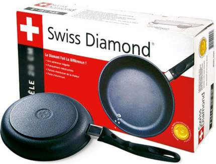 Сковорода Swiss Diamond Classic SD6424i 24 см