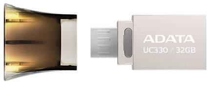 USB-флешка ADATA UC330 32GB Silver/Black (AUC330-32G-RBK)