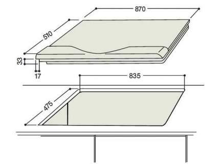 Встраиваемая варочная панель комбинированная Hotpoint-Ariston PH 941 MSTV IX Silver