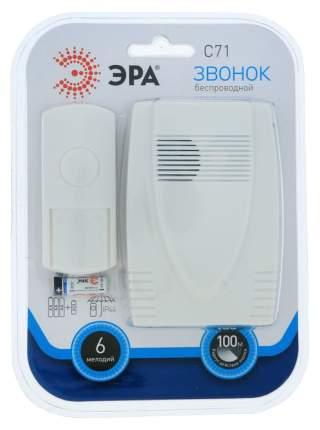 Звонок ЭРА C71 белый беспроводной