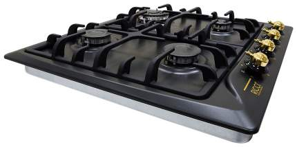 Встраиваемая варочная панель газовая RICCI rGN-630BL Black