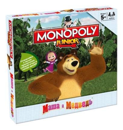Экономическая настольная игра Интерхит Монополия Маша и Медведь