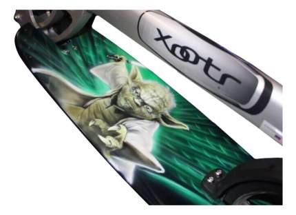Самокат Xootr Ultra Cruz Yoda gray/green