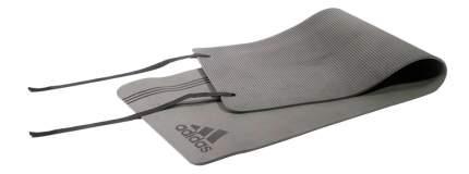 Коврик для фитнеса Adidas ADMT-12236BK черно-серый 8 мм