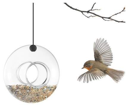 Уличная кормушка для птиц стеклянная Eva Solo 571030 Прозрачный