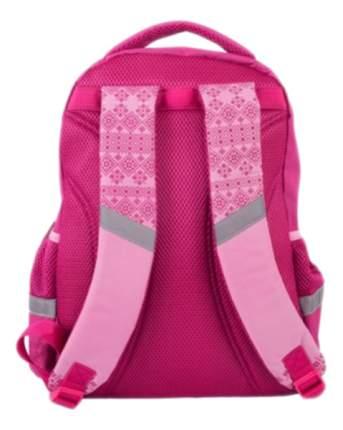 Рюкзак Gulliver школьный с пикси-дотами (розовый)