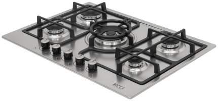 Встраиваемая варочная панель газовая RICCI RGN-ST 5003 IX Silver