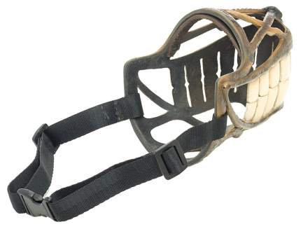 """Дизайнерский намордник для собак """"Улыбка"""", размер 7, обхват морды 32 см"""