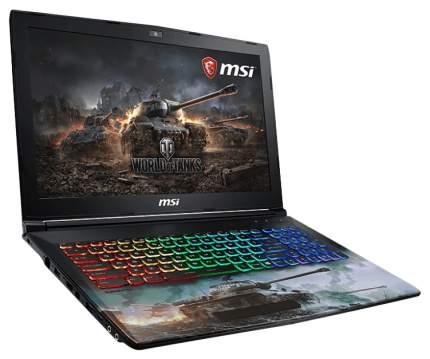 Ноутбук игровой MSI World of Tanks Edition GP62 8RC-083RU 9S7-16JF52-083