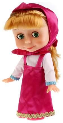 Кукла Карапуз Маша и медведь озвученная с набором зимней одежды 83033CX