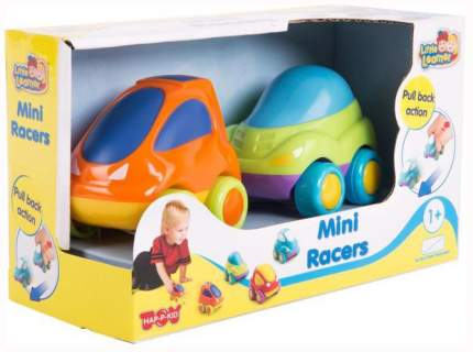 Набор пластиковых машинок Hap-p-Kid 316G Зеленый Оранжевый