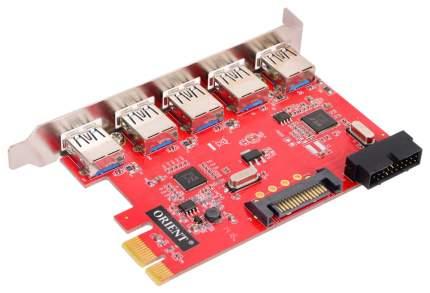 PCI-e контроллер USB ORIENT VA-3U5219PE VL805+VL813 chipset