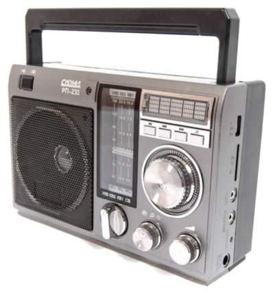 Радиоприемник Сигнал РП-231 Black/Grey