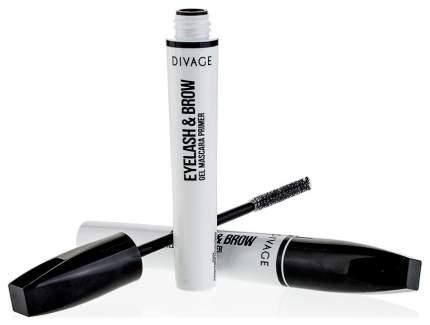 Основа под макияж ресниц и бровей Divage Eyelash Brow Gel Mascara Primer 10 мл
